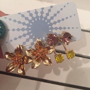 Get Into Glam ModCloth Stud Earrings NWT
